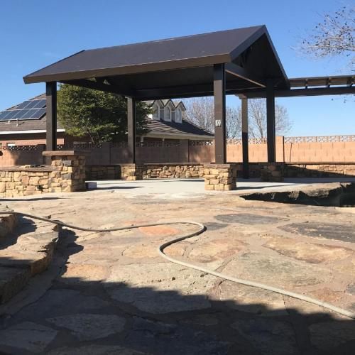 Patio Cover Installed